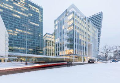 Pražská budova Parkview je jednou z nejzelenějších budov světa