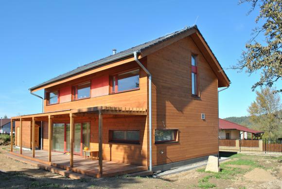 Pasivní dům Josefa Smoly. foto: Centrum pasivního domu