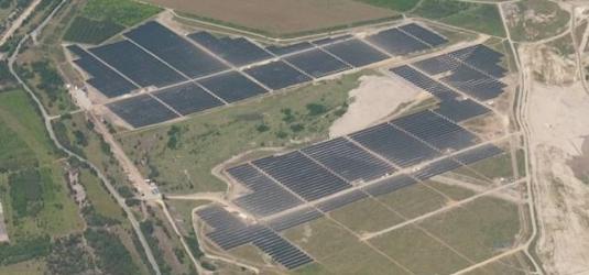 Solární elektrárna poblíž německého města Seftenberg, foto: saferay