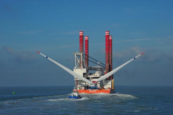 Převoz rotoru turbíny Haliade. foto: GE