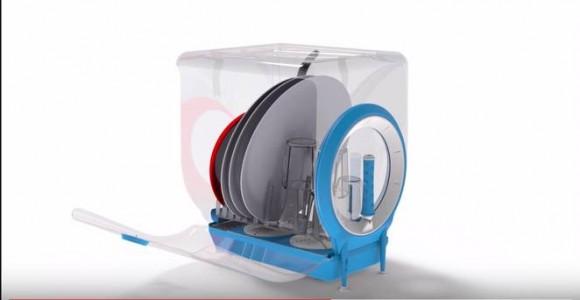 """""""Jednoduché a účinné. Umývání nádobí nemusí být nákladné ani náročné."""" Zdroj: Chen Levin / Circo Independent"""