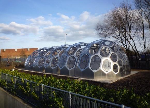 Modulární skleník SPACEPLATES je dílem architektry Anne Romme a studia N55, foto: N55