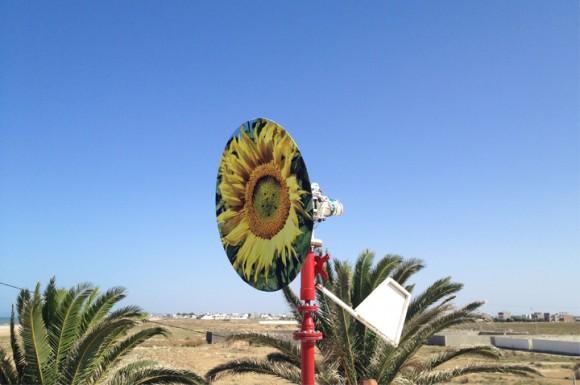Saphonian - větrná elektrárna, která dokáže vyrábět energii bez vrtule. foto: Saphon Energy