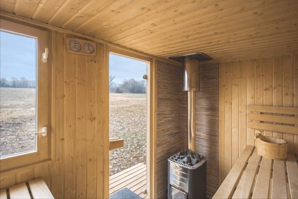 Nová sauna a kulturní osvěžovna u Labe. foto: Dita Havránková