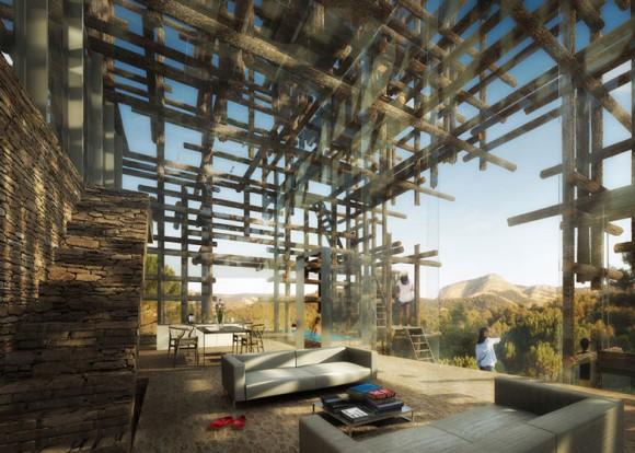 Vytvářet hranice mezi vnějším a vnitřním prostorem je už prý archaikum. Zdroj: Dezeen.com/Sou Fujimoto