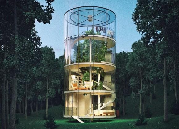 """""""Splněný sen o životě v přírodě, nebo jen nepraktické mrhání penězi ?"""" Zdroj: A. Masow Design"""