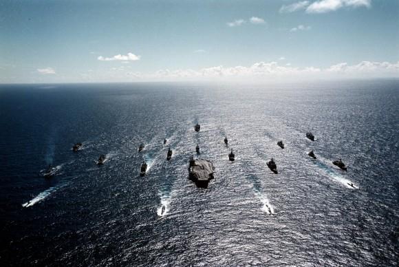 Americká pacifická flotila může stejně jako zbytek loďstva Spojených států skončit bez rozvoje biopaliv na suchu. Zdroj: Lanerloon.com