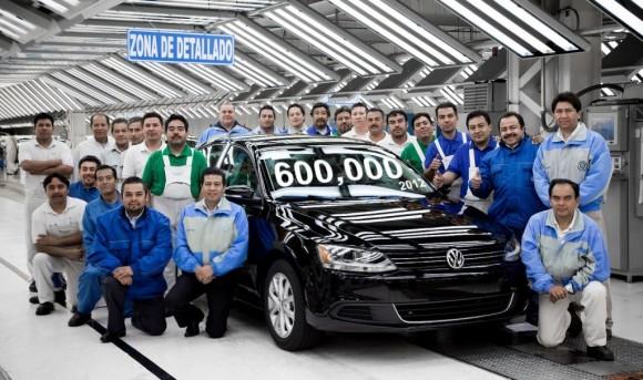 """""""Mexická VW automobilka v Puebla je největší automobilkou v Mexiku."""" Zdroj: Volkswagen"""