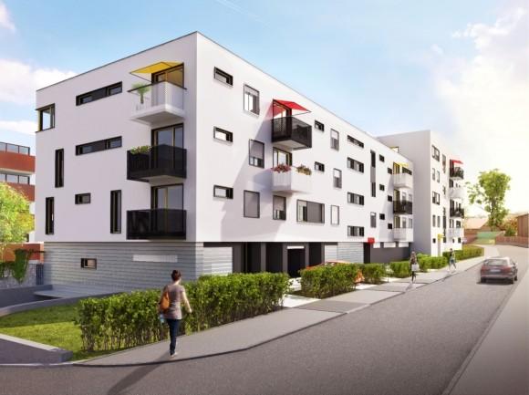 Ilustrační obrázek, nové bytové domy v Praze Hostivaři, foto: YIT Stavo