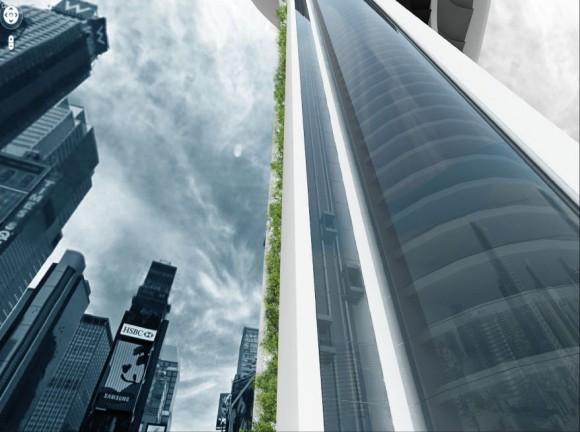 Návrh mrakodrapu Acacia Tower zaujal porotce soutěže EVOLO