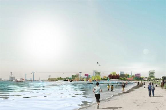 MVRDV projektují v Almere skutečné město budoucnosti - pro lidi, nikoliv pro auta. foto: MVRDV