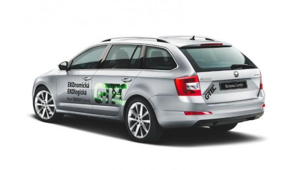 Škoda Octavia Combi G-TEC se rychle stala jedním z nejprodávanějších aut s pohonem na CNG v České republice. Vyhrát ji můžete právě vy!