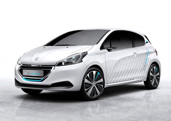 Koncept Peugeot Hybrid Air: auto poháněné vzduchem. foto: Peugeot