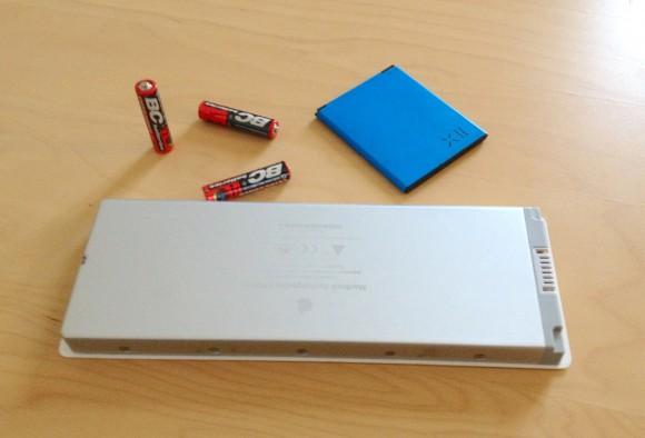 Baterie různých typů dnes najdeme ve veškeré přenosné elektronice. foto: Ekologické bydlení