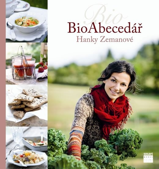 BioAbecedář je nová kniha autorky Biokuchařka Hanky Zemanové. Celobarevná kniha v pevné vazbě má 440 stran a lze ji na internetu sehnat od cca 550 Kč.