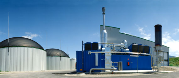 bioplynová stanice Viessman, foto: Prosun