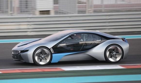 BMW Vision EfficientDynamics, sportovní auto budoucnosti, podle kterého dnes vzniká plug-in hybrid BMW i8, foto: BMW
