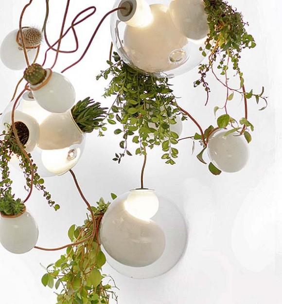 Nová kolekce Omera Arbela přináší současně světlo i zeleň do vašeho pokoje. Zdroj: Bocci.ca