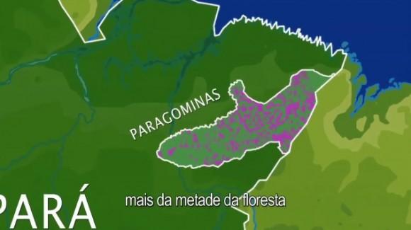 Dřív tu byly pralesy, teď přišla civilizace. Kraj Paragominas ve státě Pará byl téměř z poloviny vykácen. foto: IMAZON