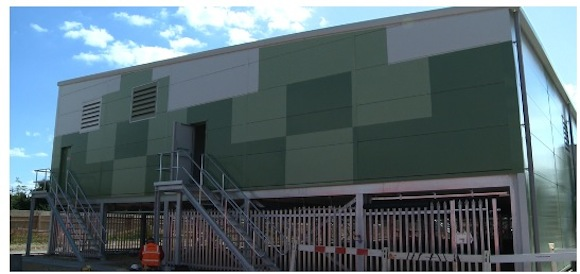 Obří nová baterie poblíž Londýna má britské energetické síti pomoct pojmout nové obnovitelné zdroje energie. foto: S&C Electric