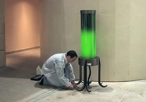 """Jsou """"řasové"""" lampy správným řešením čistoty ovzduší ve městech? Zdroj: Shamengo.com"""