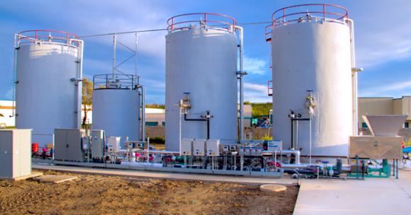 Bioplynová stanice americké společnost Clean World Partners, foto: CWP