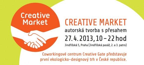 Zveme všechny čtenáře na pražský Creative Market