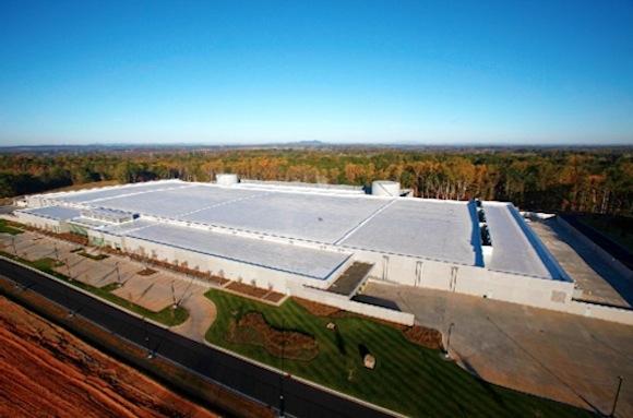 Datové centrum Apple ve městě Maiden v Severní Karolíně, foto: Apple