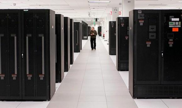 Datové centrum IBM ve výzkumném parku Triangle v Severní Karolíně v USA, foto: IBM