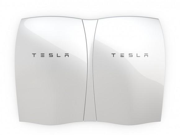 Alternativní model využití Powerwall: dobíjení baterie proudem ze sítě mimo špičku, a následné čerpání z baterie během zátěžových hodin. foto: Tesla Motors