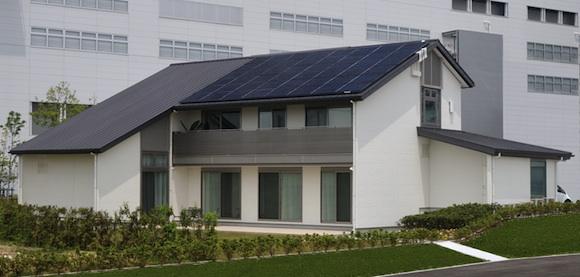 domy Sharp eko dům Japonsko