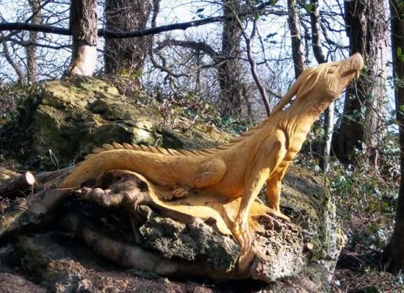 V pohádkovém lese narazíte i na strašného draka. Zdroj: inhabitat.com