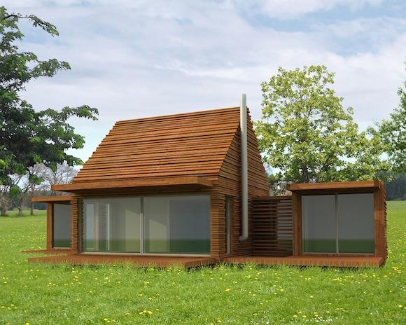dřevostavby Natura Space