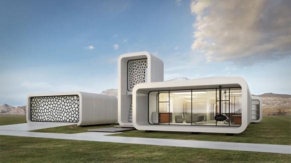 Technologie 3D tisku se začíná uplatňovat také ve stavitelství. Poprvé v Dubaji. foto: WinSun Global
