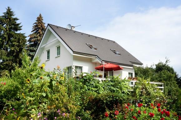 Klasický dům jako dřevostavba z europanelů