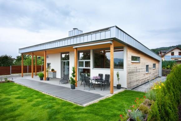 Dům - moderní dřevostavba z Europanelu