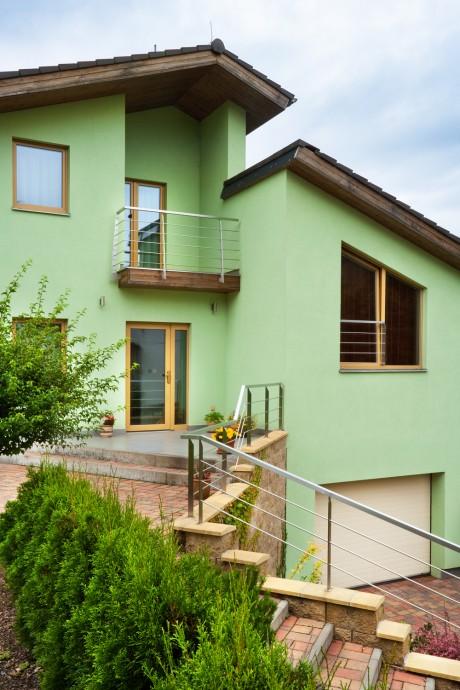Velký rodinný dům - dřevostavba - postavený s pomocí technologií Europanel