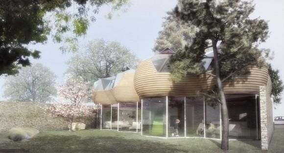 EC*-Cocoon - nové nízkoenergetické bydlení budoucnosti architekta jménem Cyril-Emmanuel Issanchou,foto: Cyril-Emmanuel Issanchou