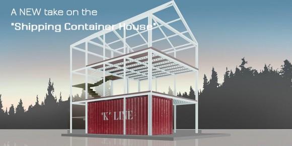 Modulární skládací dům Eco-Pak si dokáže sestavit každý zkušenější kutil, foto: Coates Design