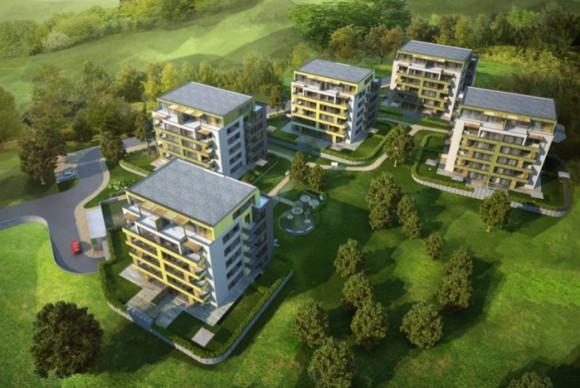 EcoCity Malešice, největší nízkoenergetické bydlení v Praze