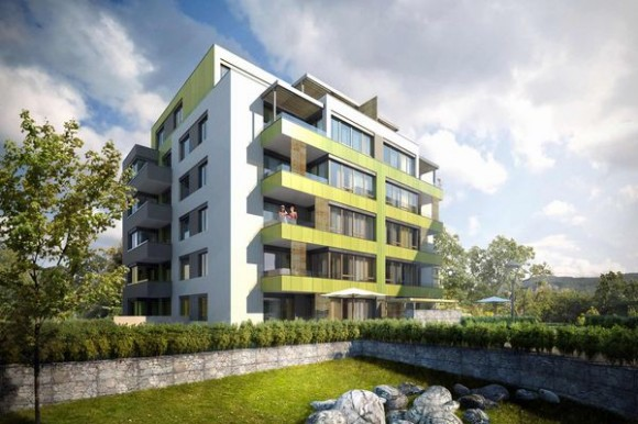 ECOCITY je bydlení navržené s ohledem na dopad na životní prostředí, se sníženými nároky na energie, se zlepšeným hospodařením s eviromentálními zdroji a se zachování maximálního přírodního rázu okolí. foto: JRD