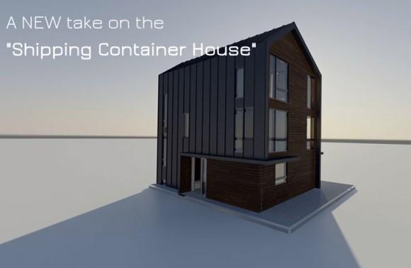 Domov, který vám přijde poštou. Zdroj: Ecopak.com