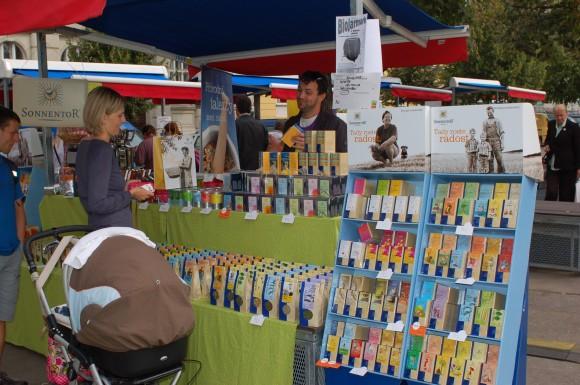Sortiment Sonnentoru je bohatý, zákazníci tak mají skvělý výběr. Foto: Martin Singr pro Ekobydleni.eu