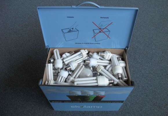 K recyklaci loni Češi odevzdali zářivky obsahující více než 26 kilogramů toxické rtuti.