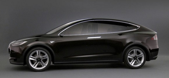 Elektromobil Tesla Model X - bez postranních zrcátek. Nápad je to inovativní, ale bezpečnostní předpisy představují mantinel. foto: Tesla Motors