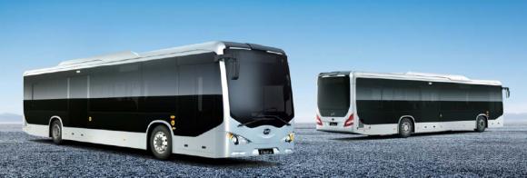 Elektrobbus BYD GreenCity budou nově vozit turisty i místní obyvatele v Uruguayi, foto: BD