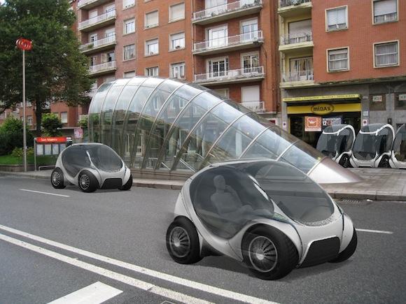 elektromobil Hiriko