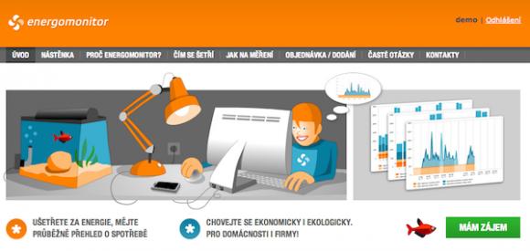 Energomonitor.cz je pravděpodobně první českou online službou pro měření spotřeby elektřiny.