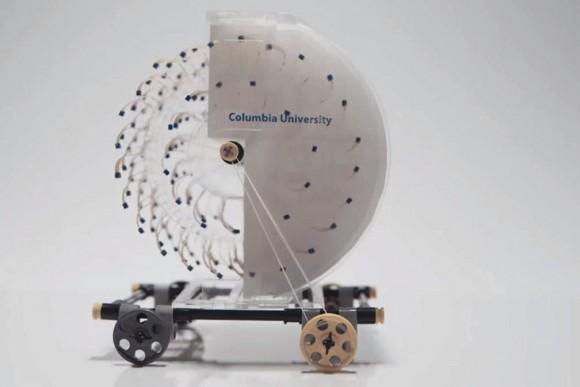 Malý stroj pohání kupředu energie odpařování vody. foto: Columbia University