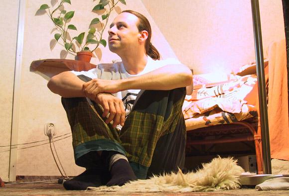 Filip Procházka je hrdým majitelem ostrovního fotovoltaického systému na své trvale obývané chatě, foto: Filip Procházka